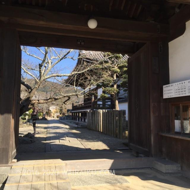 聖徳太子生誕の地・橘寺まで犬連れドライブ。