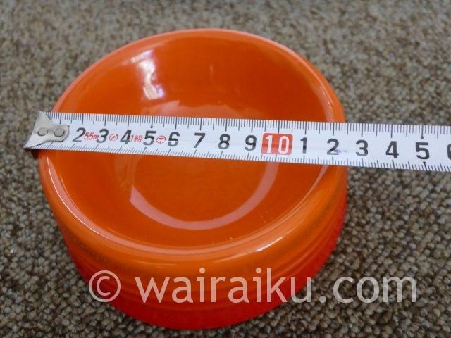 【犬の食器】おしゃれな陶器のルクルーゼ・ドッグボールを購入レビュー。