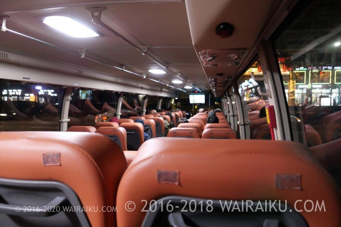 釜山の夜景観光はシティツアーバスがお手軽です。