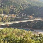 十津川村 バス キャッシュバック 谷線の吊り橋