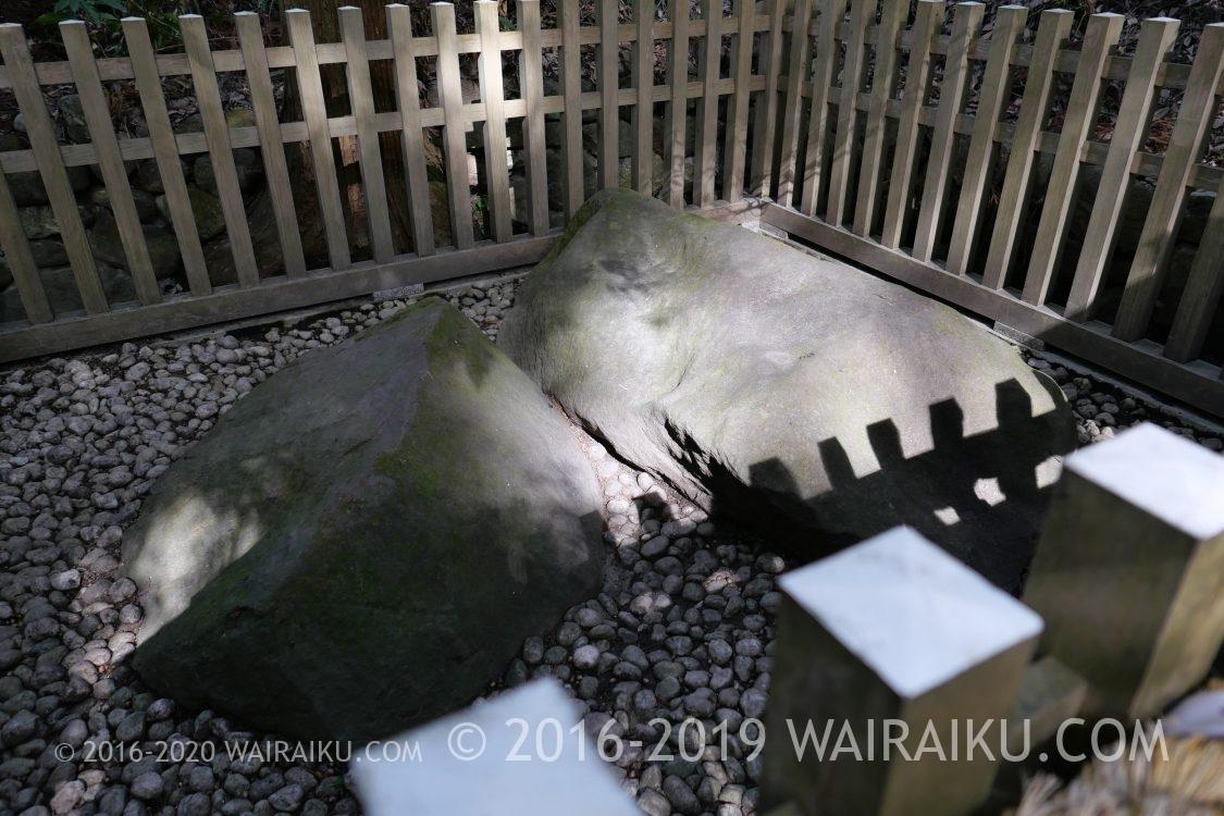大神神社 夫婦岩