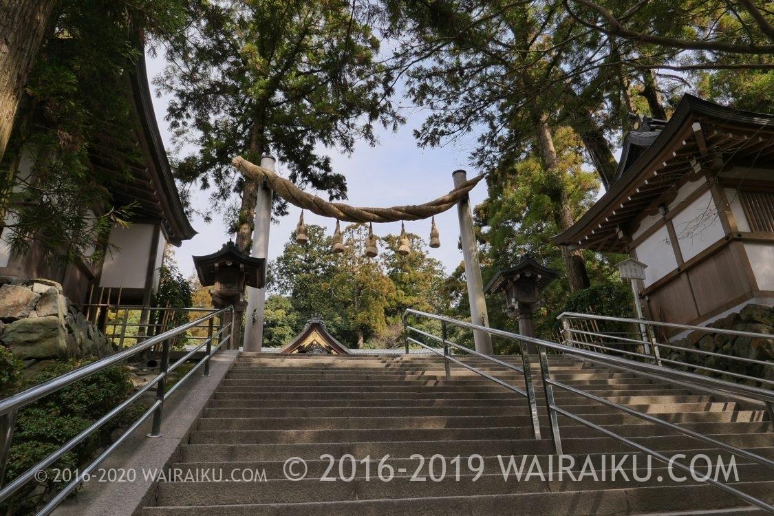 大神神社 階段 エレベーターあり