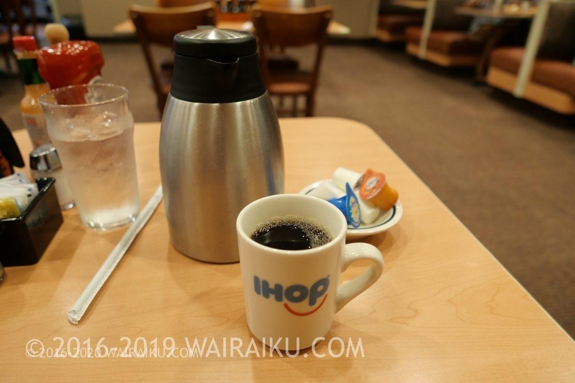IHOP ホットコーヒー