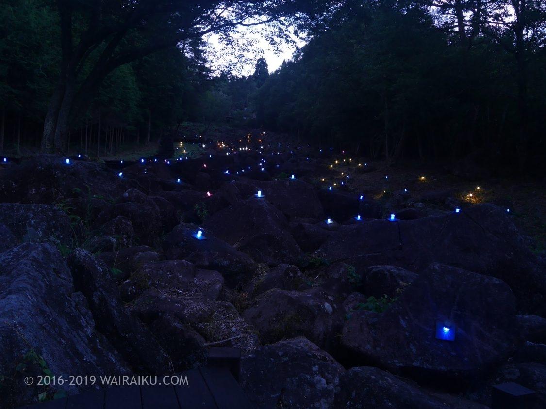 鍋倉渓 ライトアップ