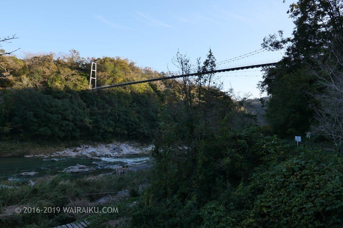 岩倉峡公園 吊り橋