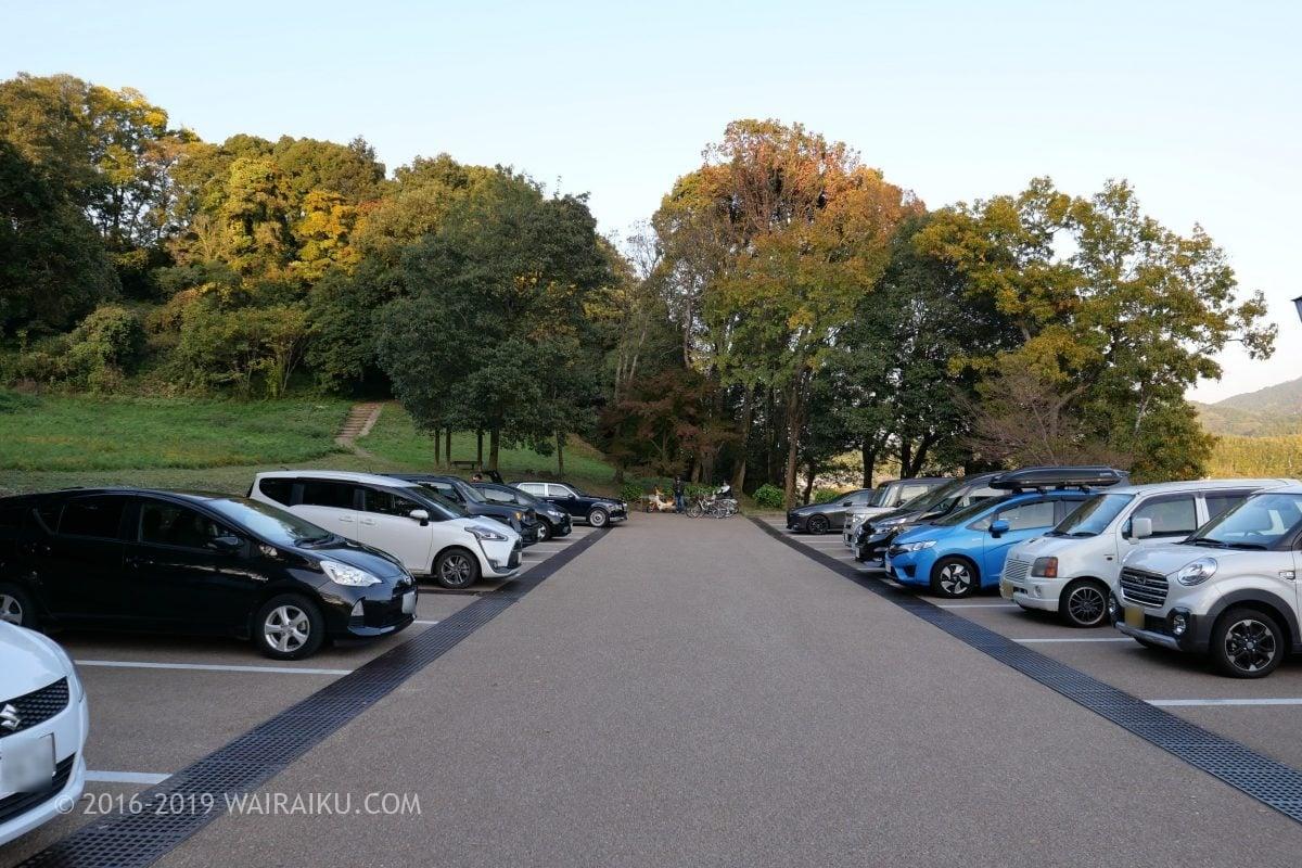 甘樫丘 無料駐車場