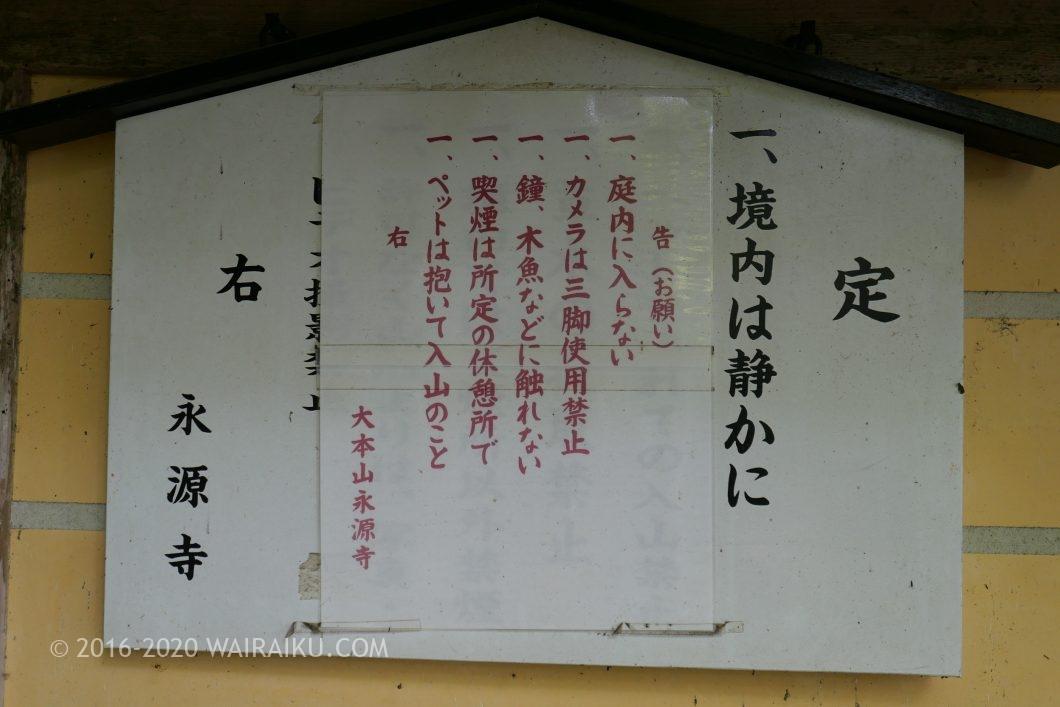 永源寺 ペット