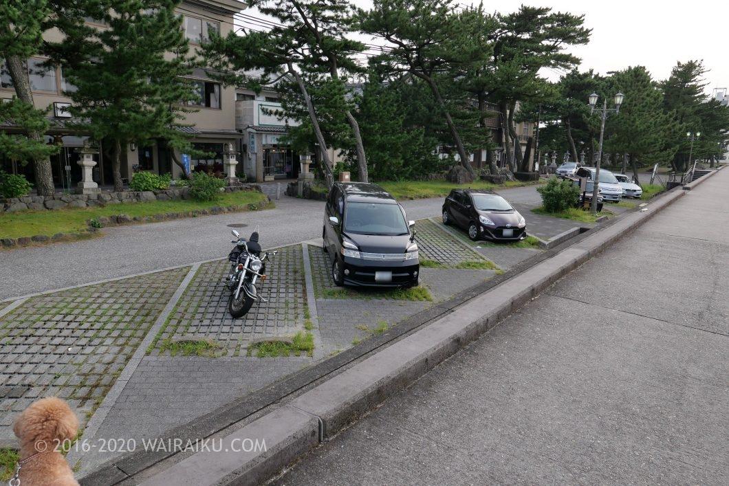 二見興玉神社 駐車場