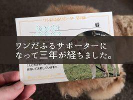 ピースワンコ・ジャパン ワンだふるサポーター
