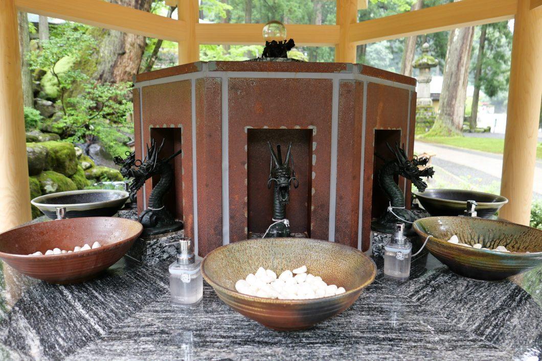永平寺 手水舎